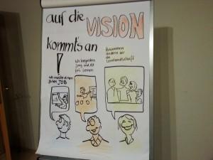 Auf die Vision kommt es an